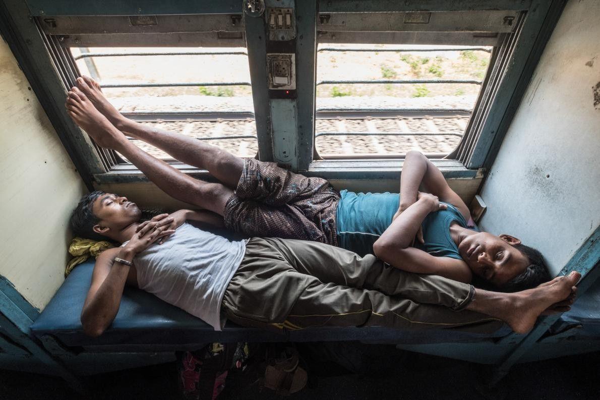 Passageiros da região nordeste da Índia.