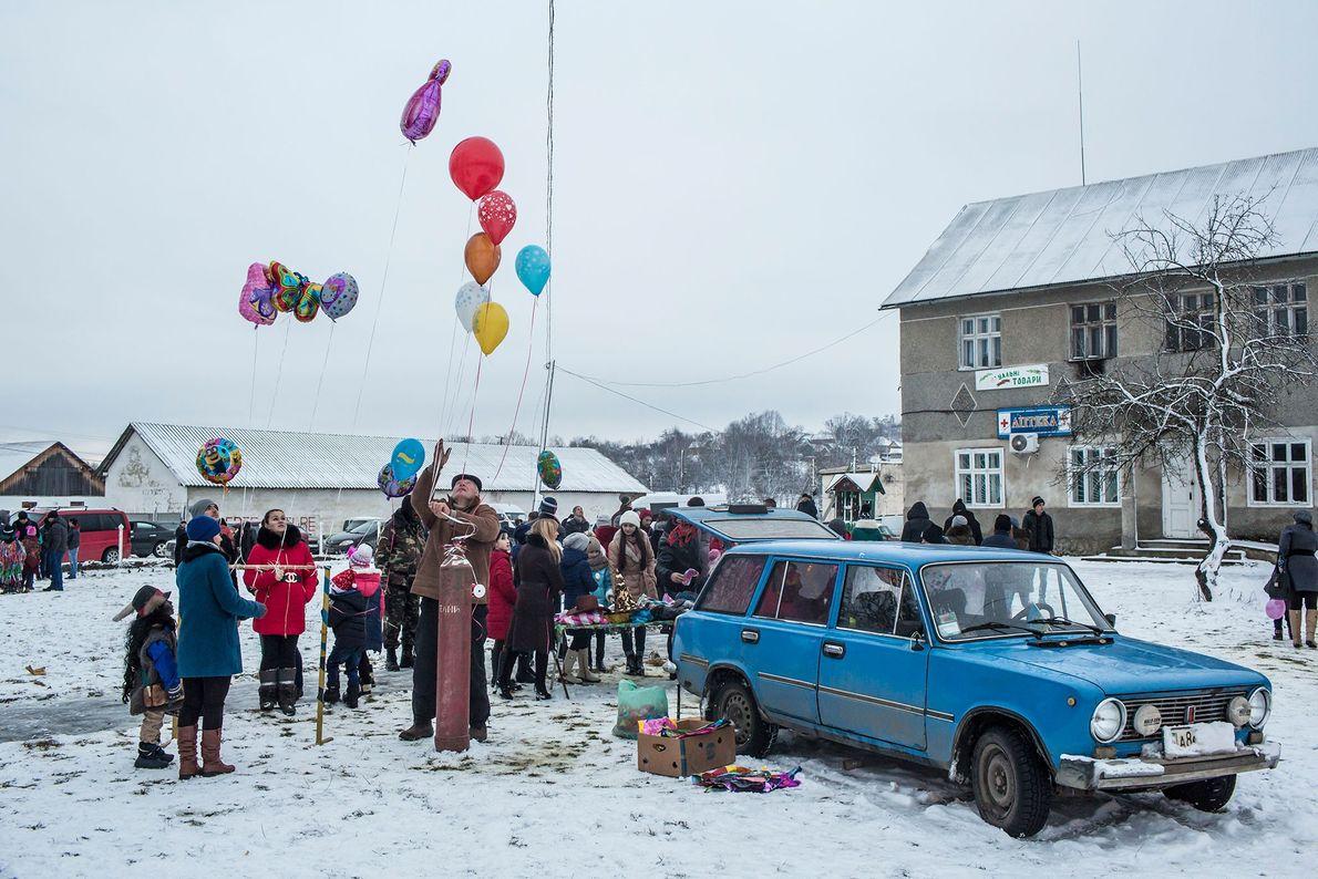 Balões e Felicidade