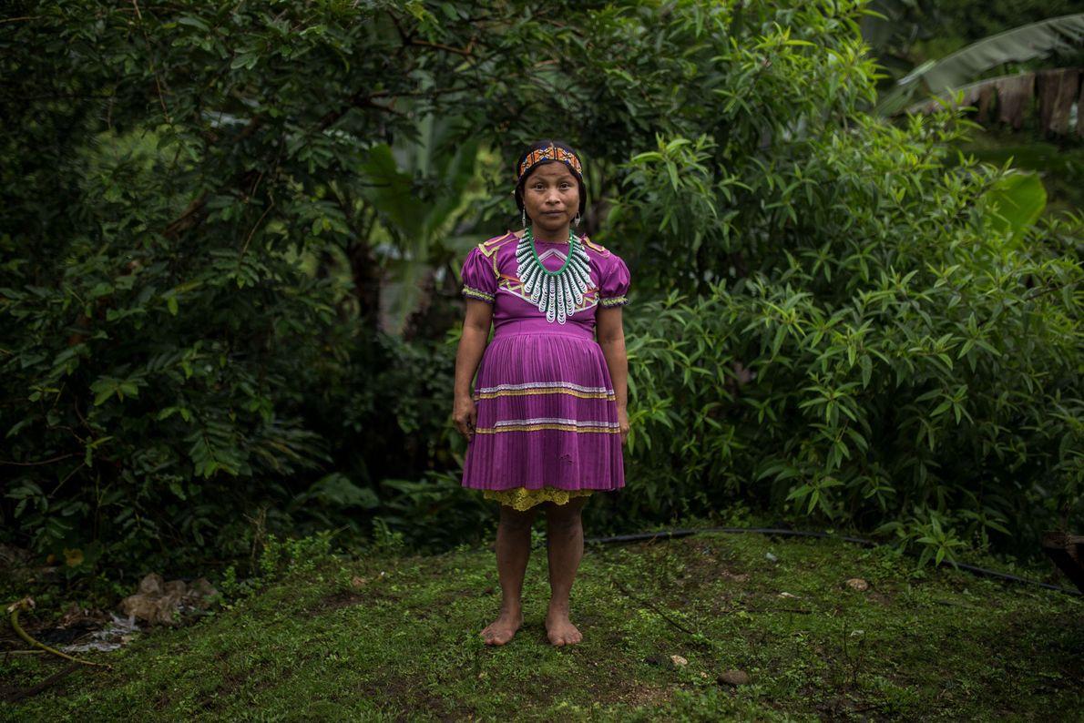 Mulher grávida de La Puria