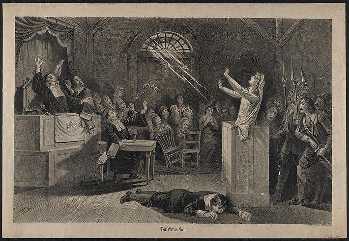 A Bruxa vol.1 por J.E. Baker 1892