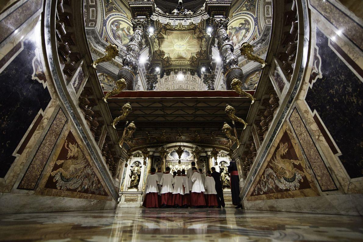 O primeiro túmulo de um Papa