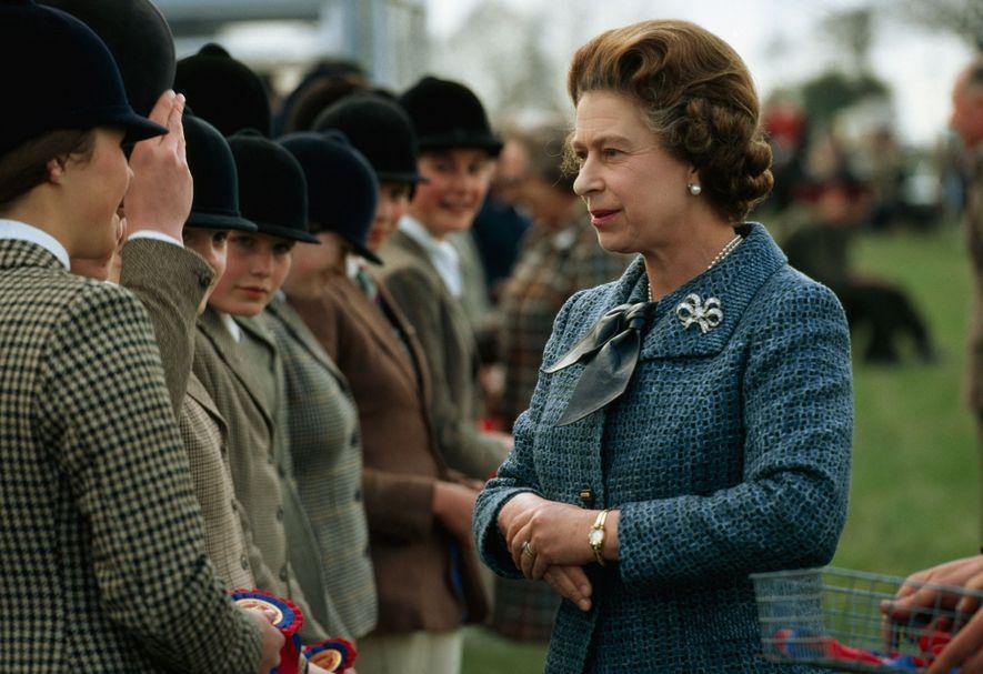 A rainha é conhecida pelo seu amor incondicional pelos cavalos e nunca perde o Derby britânico ...