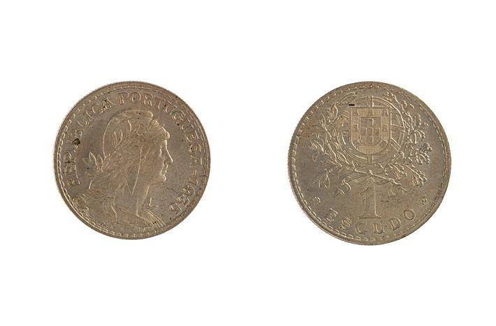 moeda 1 escudo