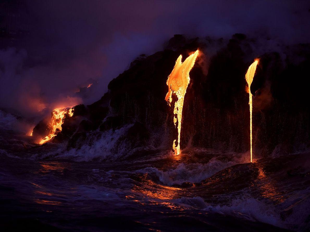 Fotografias Impressionantes de Lava