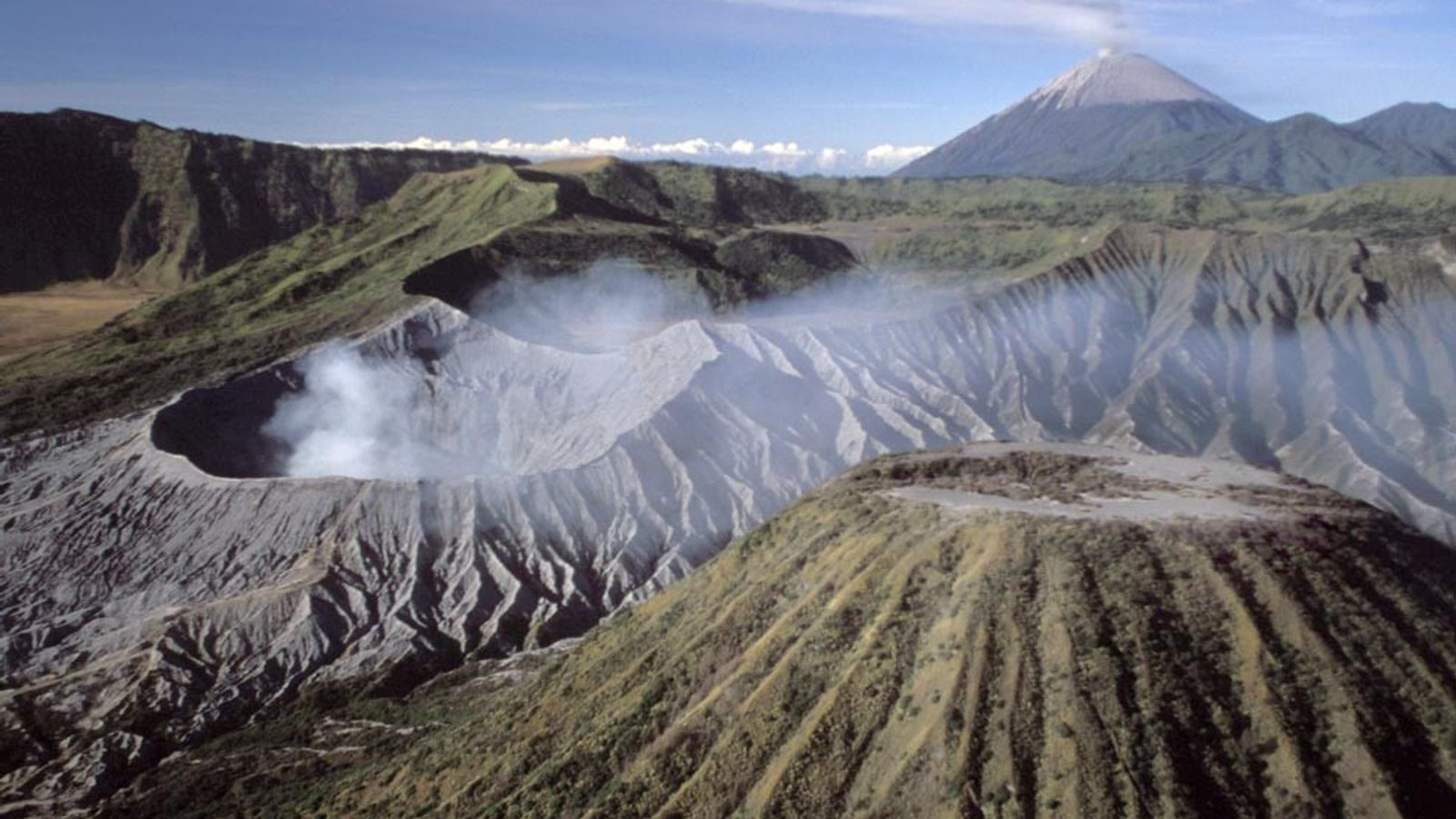 Montanhas Indonésias
