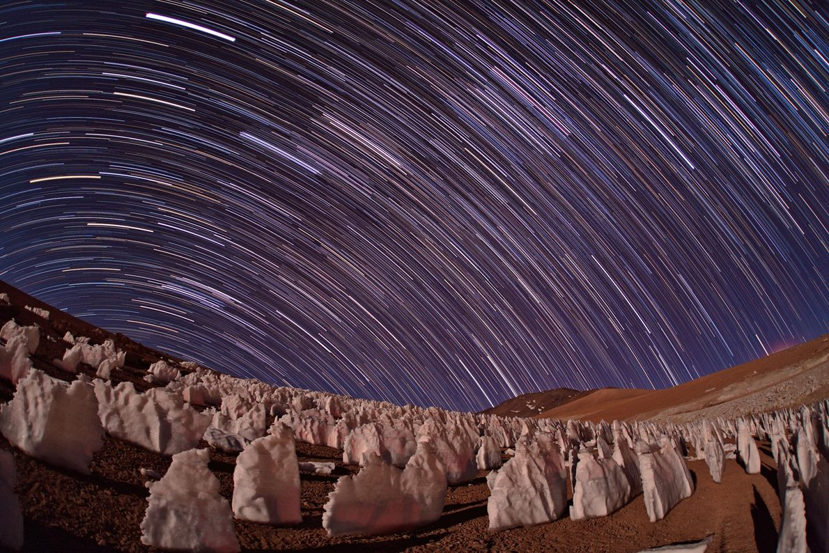 O deserto de Atacama, no Chile, é frequentemente usado para simular Marte: é um dos lugares ...