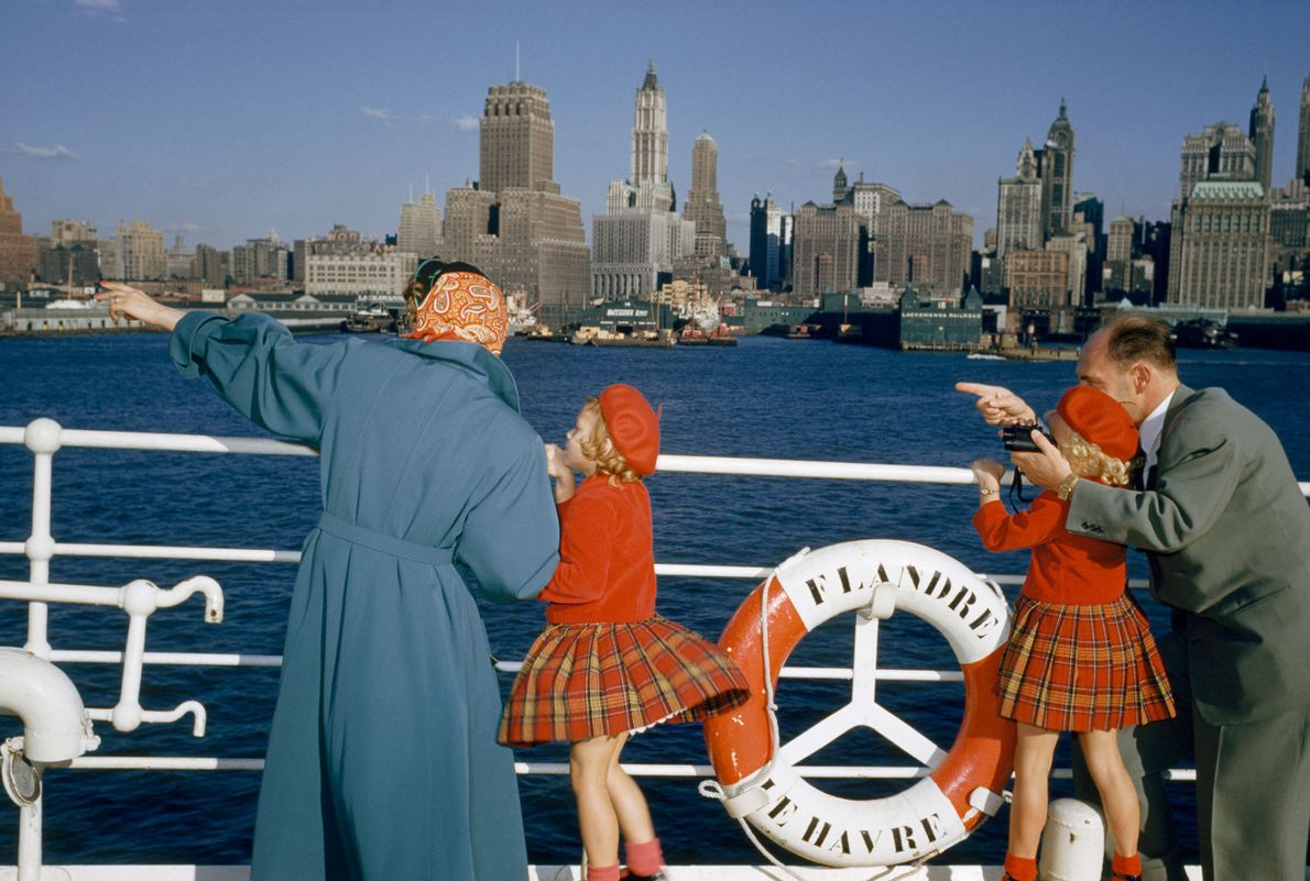 Nova Iorque em 1954