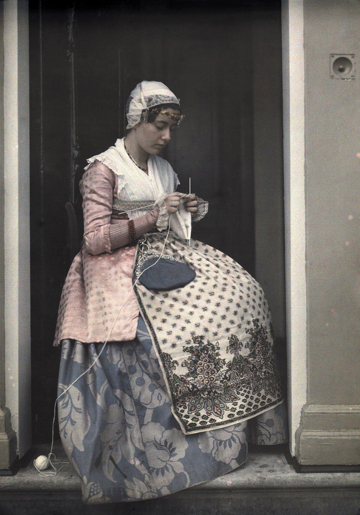 Vestido Tradicional - Fotografias Autocromo