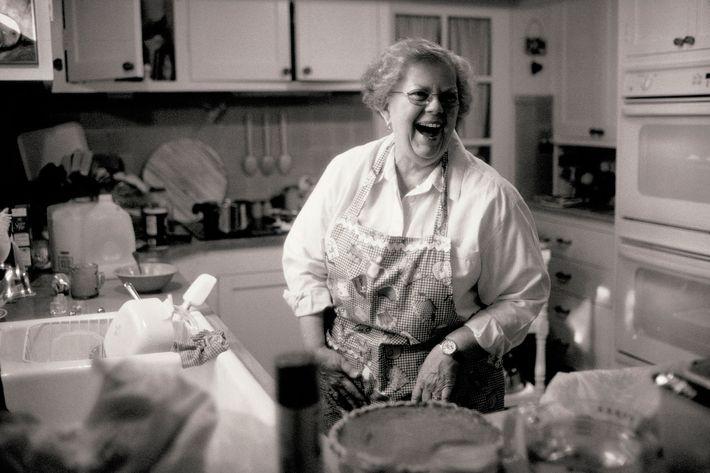 Mulher numa cozinha