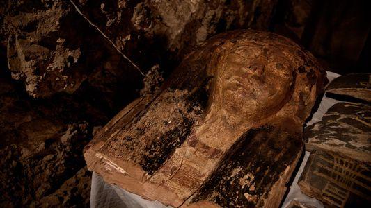 Os Túmulos Egípcios Descobertos em Luxor