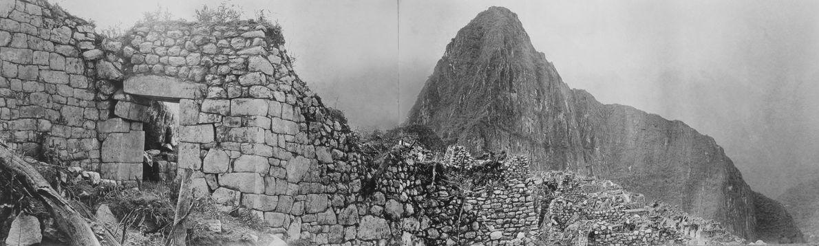 Estas fotografias deslumbrantes mostraram Machu Picchu ao mundo