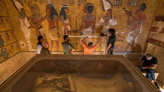 As Buscas por Câmaras Secretas no Túmulo do Rei Tutankhamon