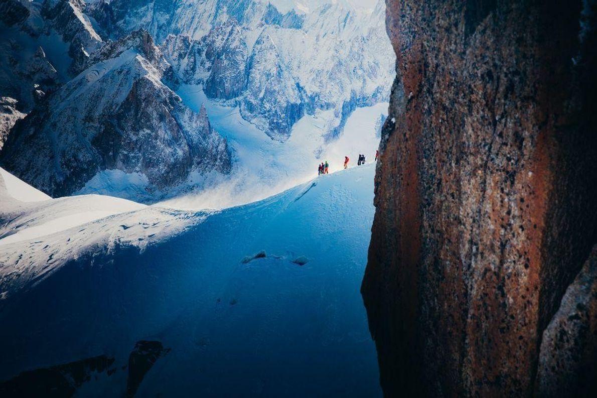Cume do Monte Branco em Chamonix