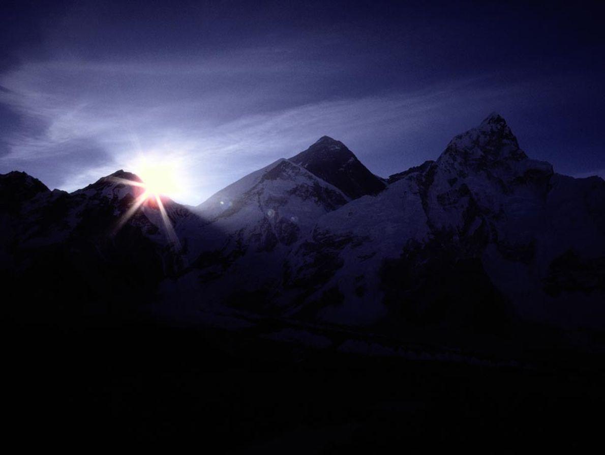 Monte Evereste e Himalaias