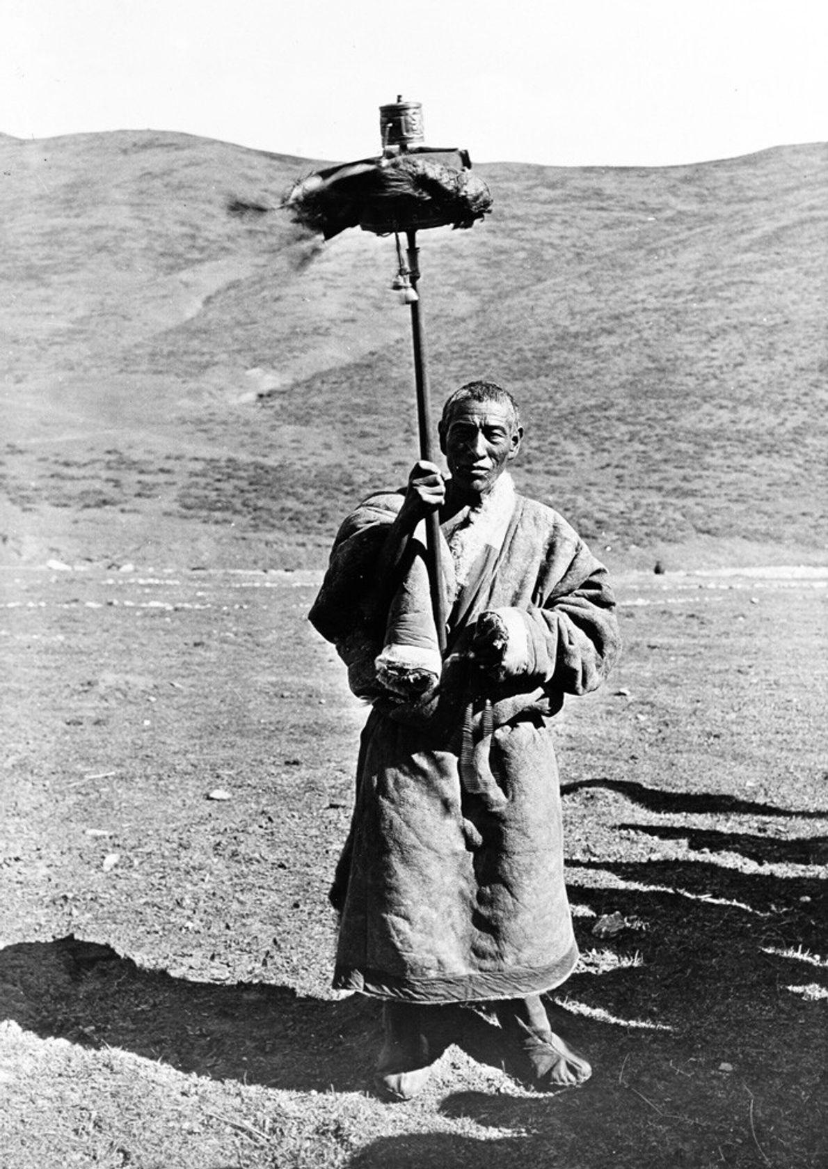 nómada tibetano Drokpa