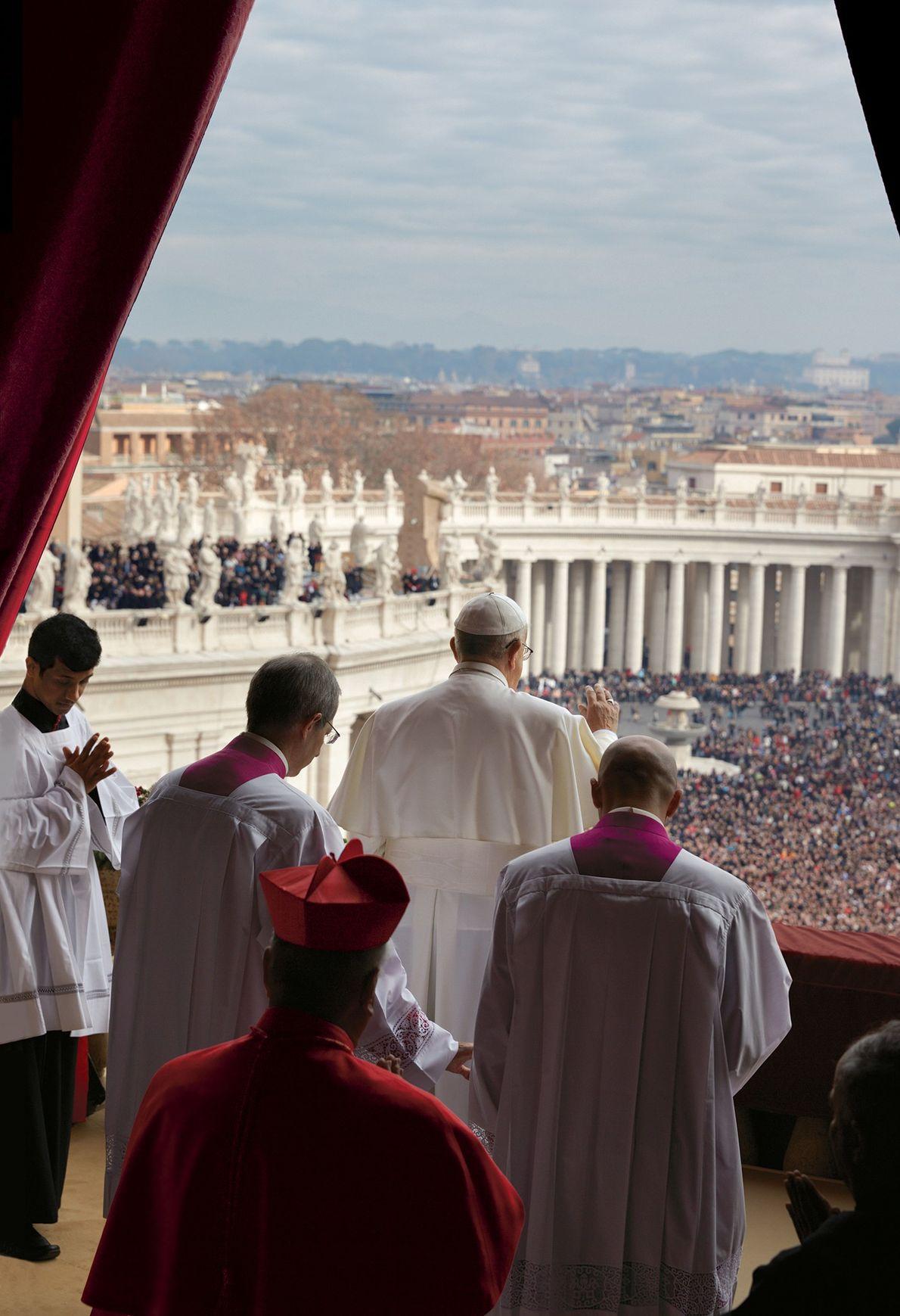 O Papa fala
