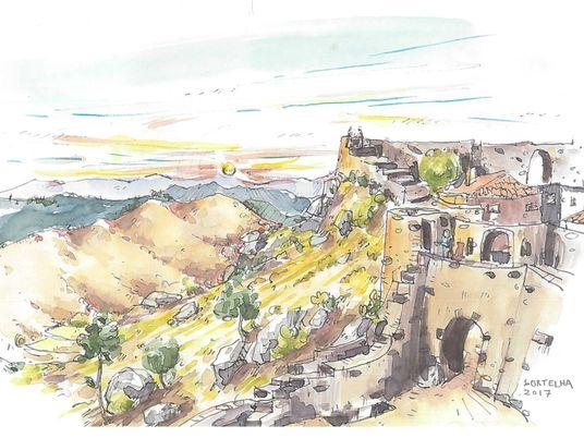 Sketches de Caminhos Portugueses