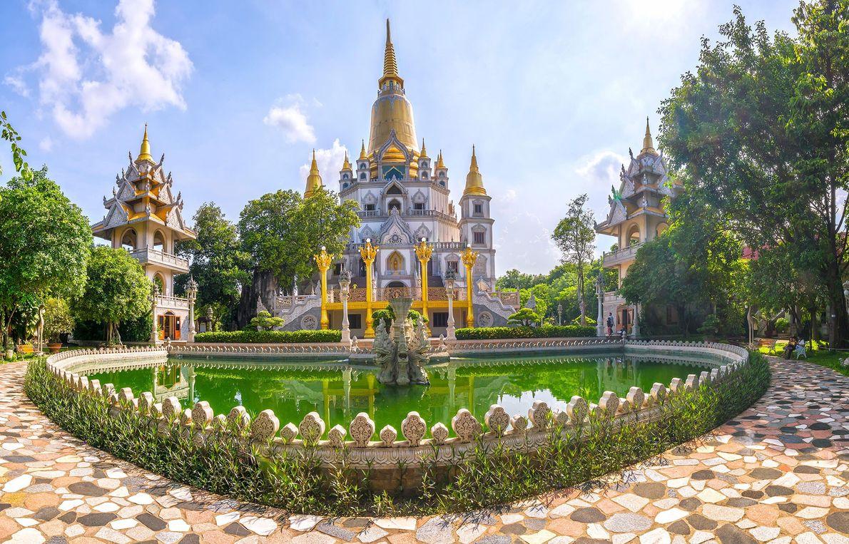 Pagode Buu Long , Vietname