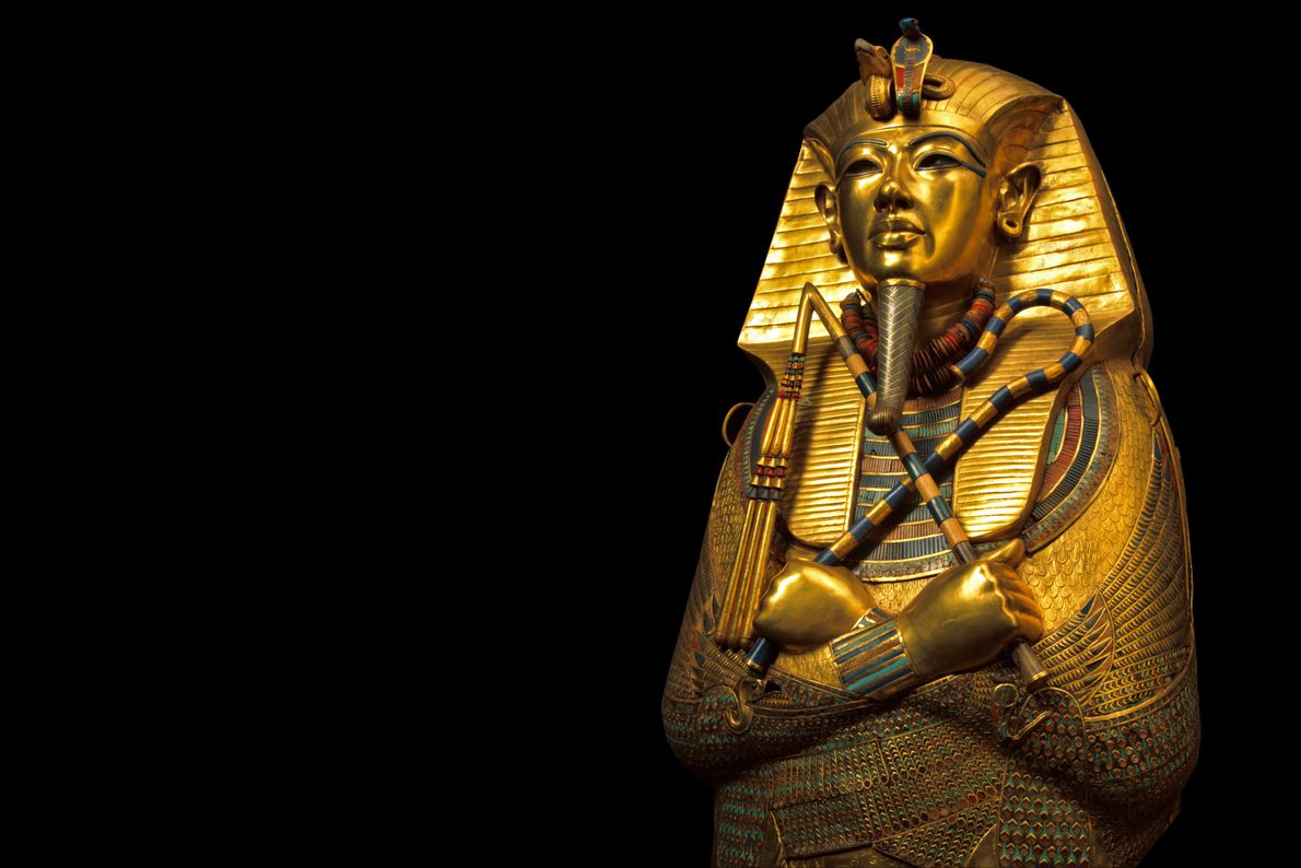 Máscara funerária de Tutancámon
