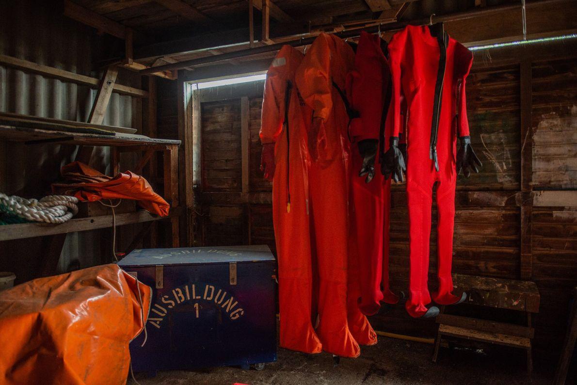 Entre outubro e março, os que ficam no navio vão testemunhar o inverno do Ártico, um ...
