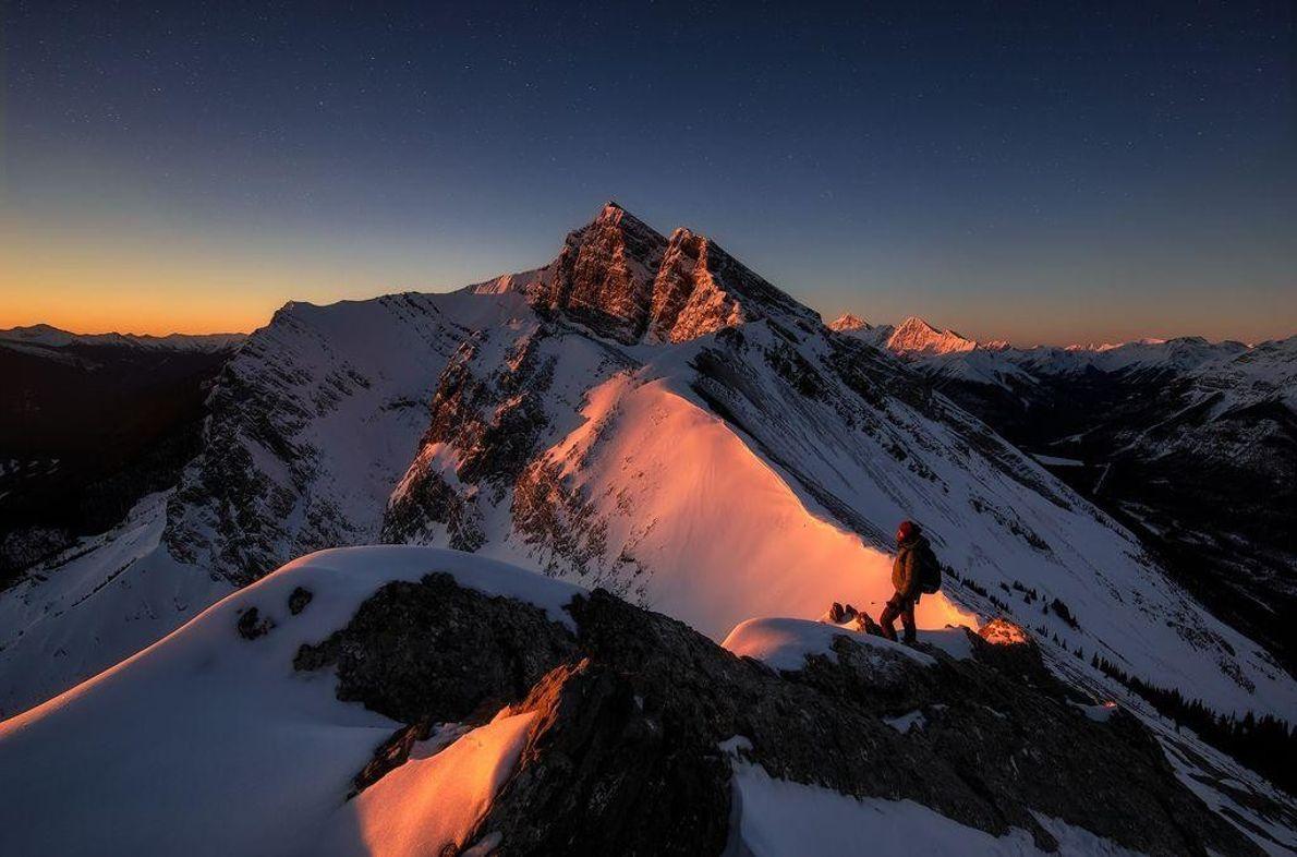 Pico de Ha Ling, no Canadá