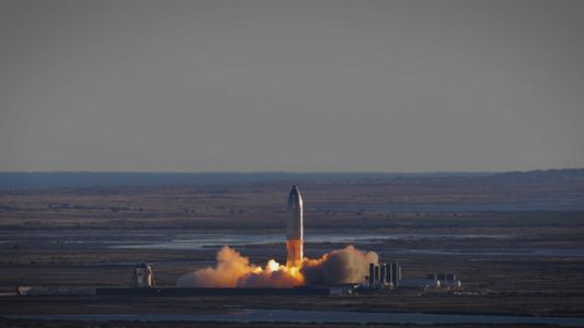 Primeiro Voo a Alta Altitude da Nave da SpaceX