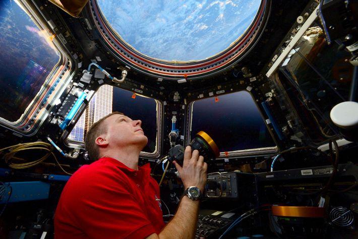 Terry Virts na Estação Espacial Internacional