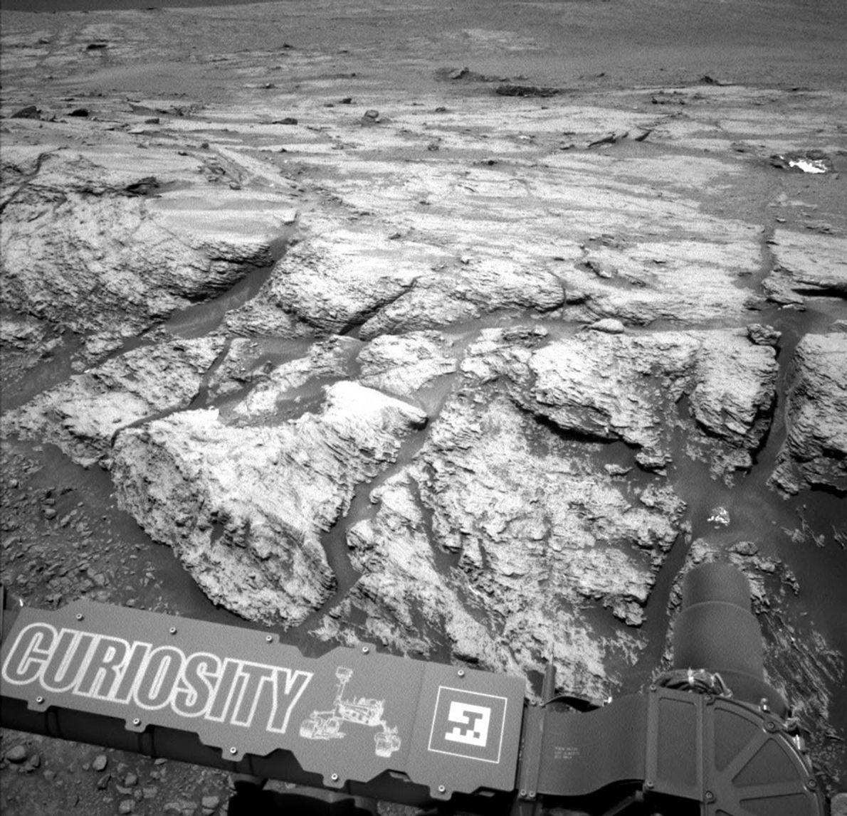 No dia 19 de junho, a sonda Curiosity Mars da NASA detetou um pico de metano ...