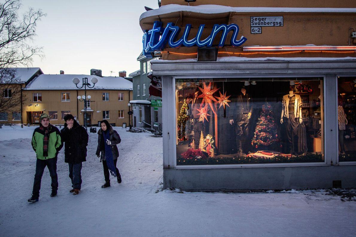 Fotografia de Kiruna