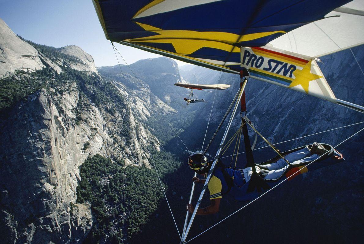 Sobrevoar o Yosemite