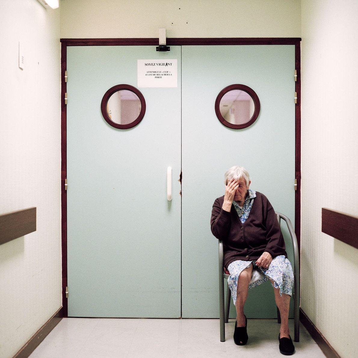 Uma Ala de Doentes com Alzheimer