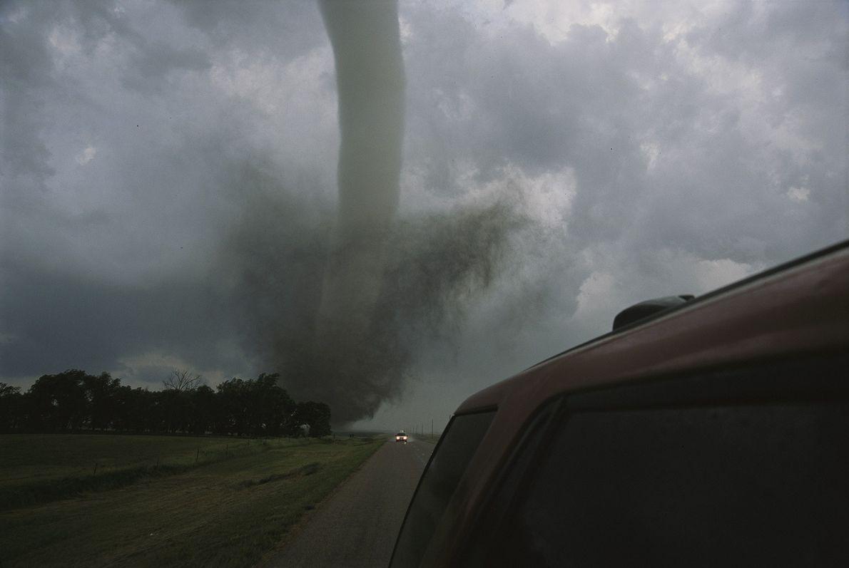 Um tornado de categoria F4