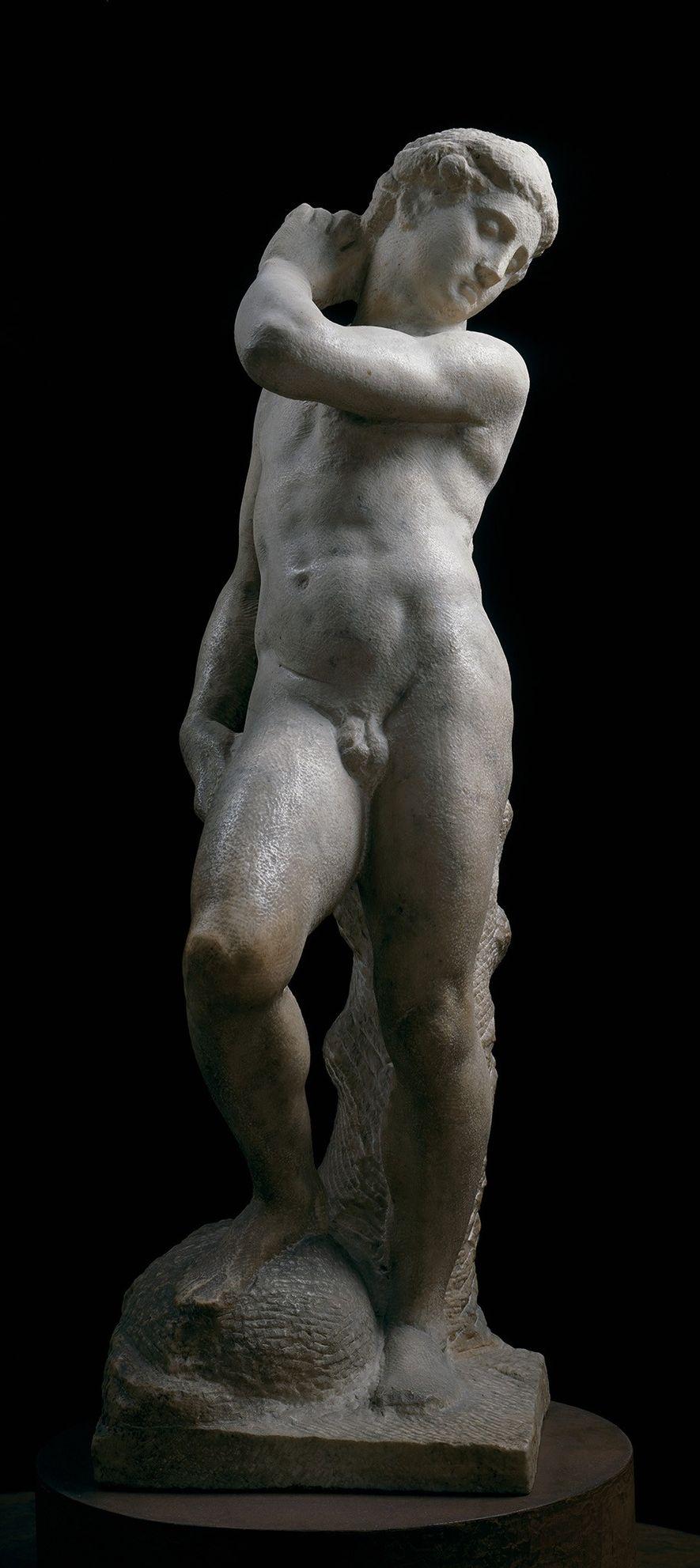 A estátua de Apolo