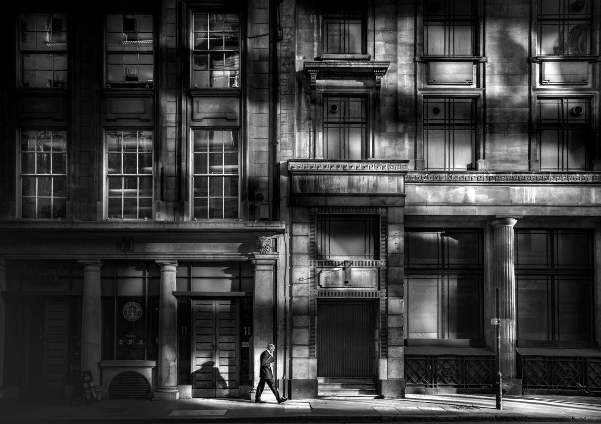 """""""Eu estava numa viagem de negócios, em Londres"""", escreve o fotógrafo Your Shot, Takeshi Ishizaki. """"Tive ..."""