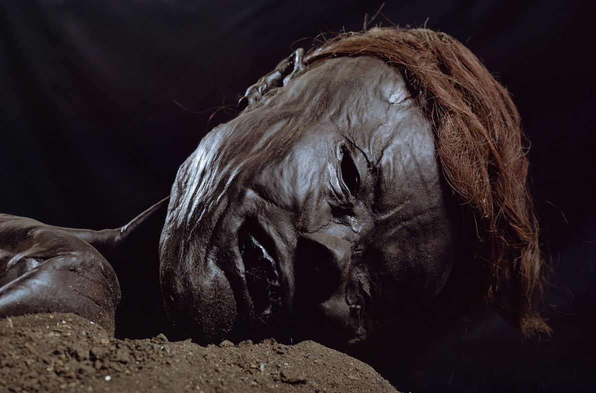 Múmia natural do Homem de Grauballe
