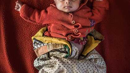 Veja os Bebés Refugiados que Nascem Sem Um Lugar a Que Possam Chamar Casa