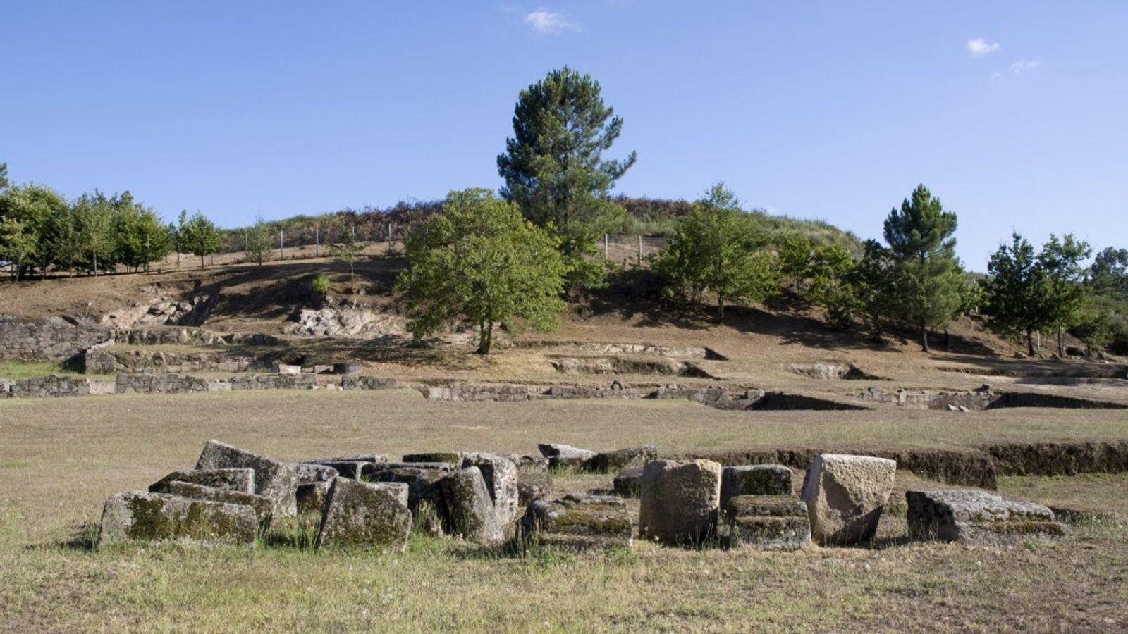 Cidade Romana de Tongóbriga.