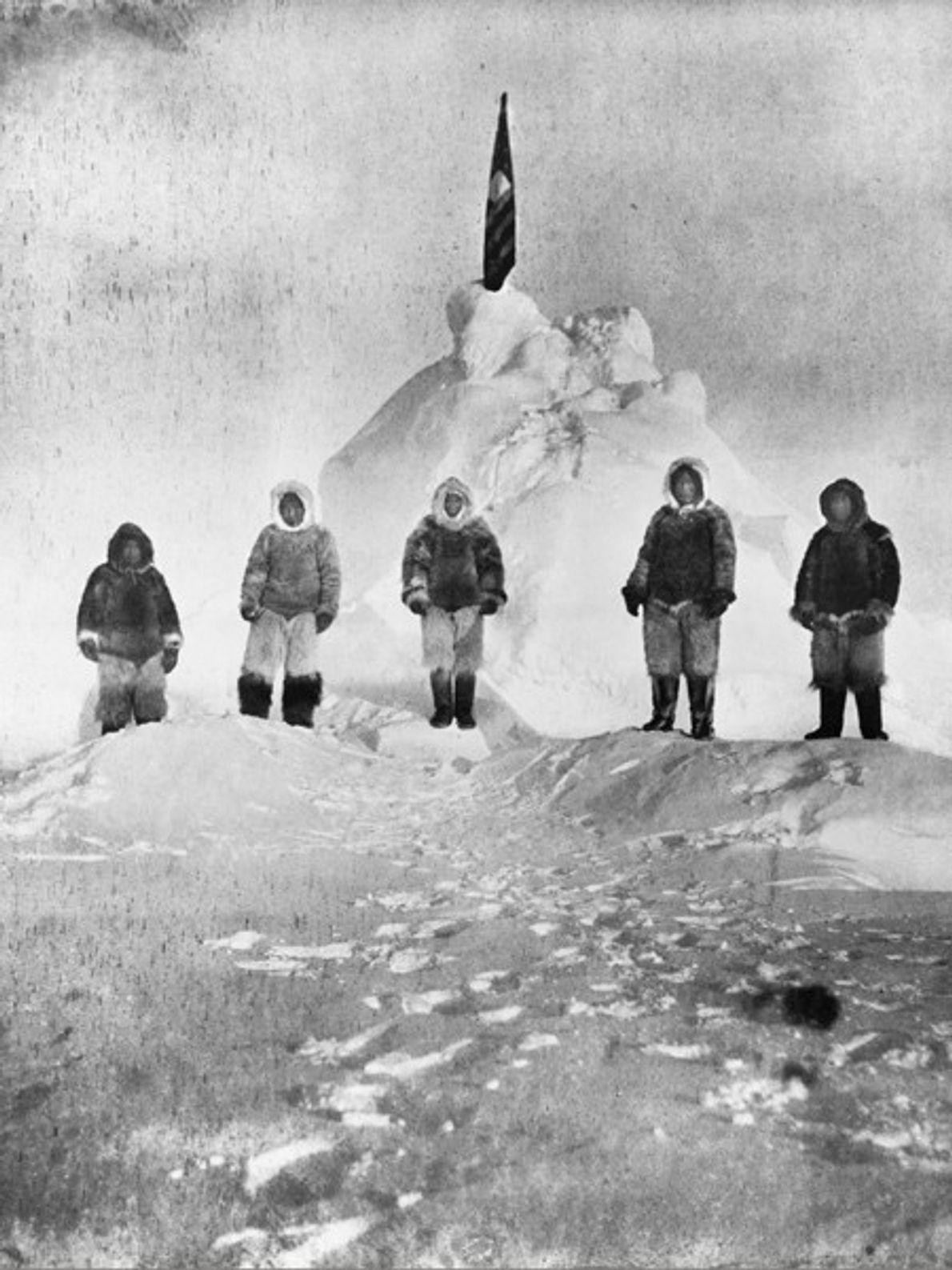 Primeira Fotografia Tirada no Pólo Norte