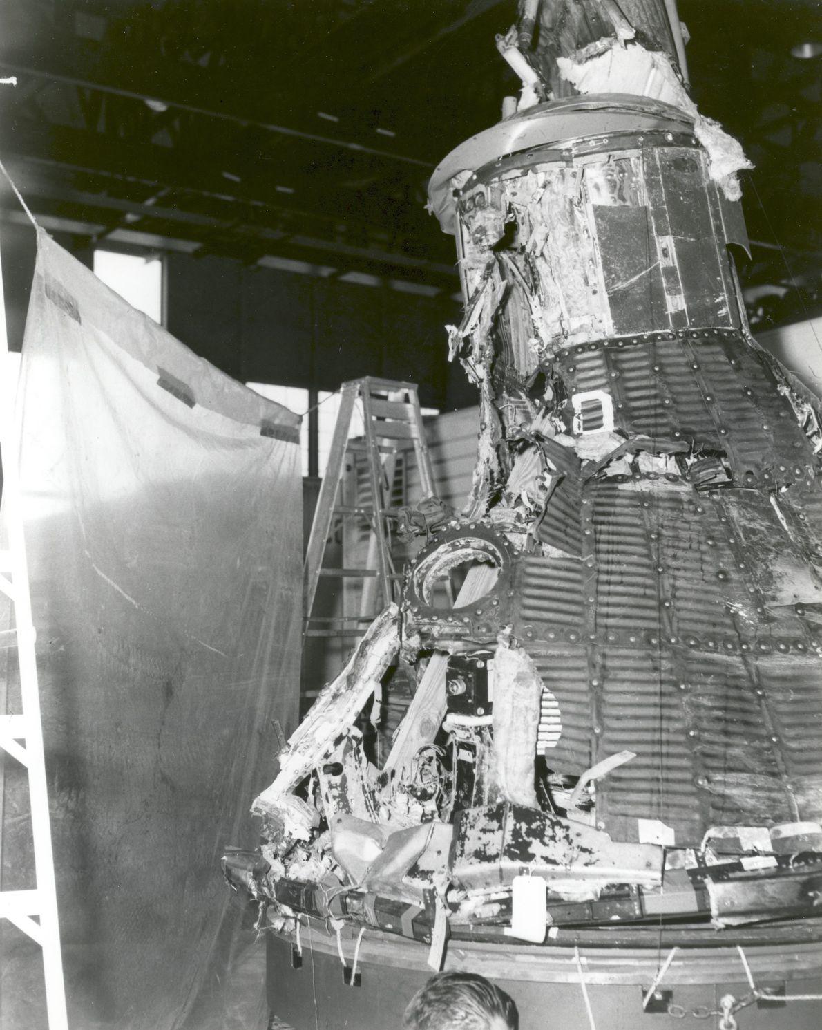 O primeiro voo do Programa Mercury foi um fracasso, embora tenha levado a refinamentos no design. ...
