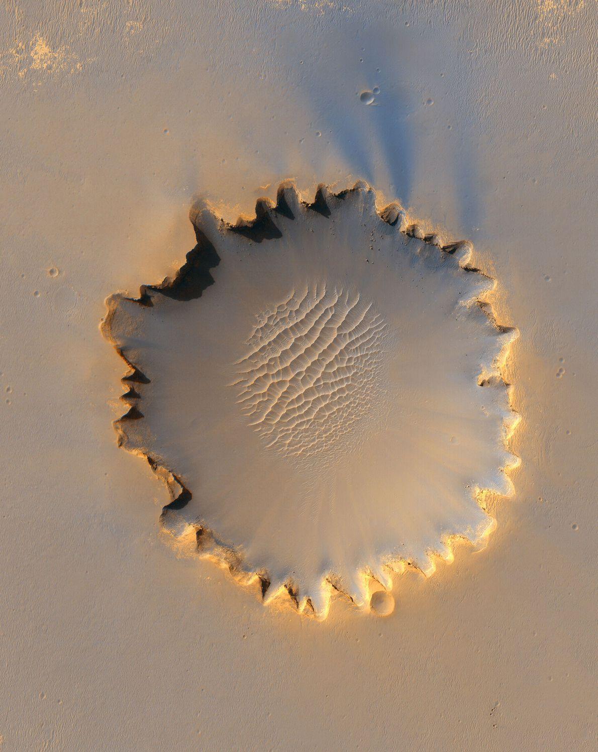 A Cratera Victoria.