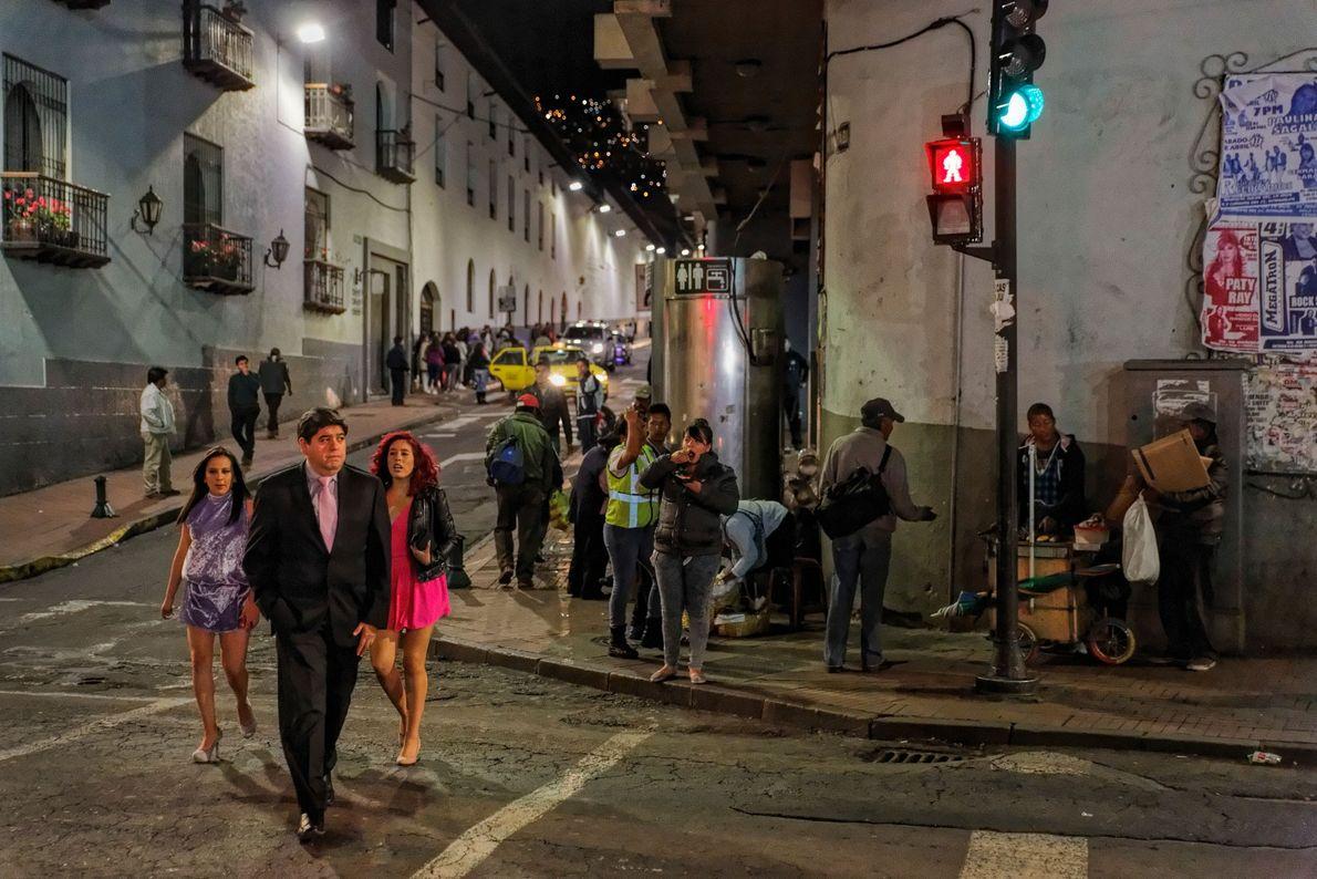 A história bem preservada de Quito ganhou um lugar na lista de Patrimónios Mundiais da Unesco.