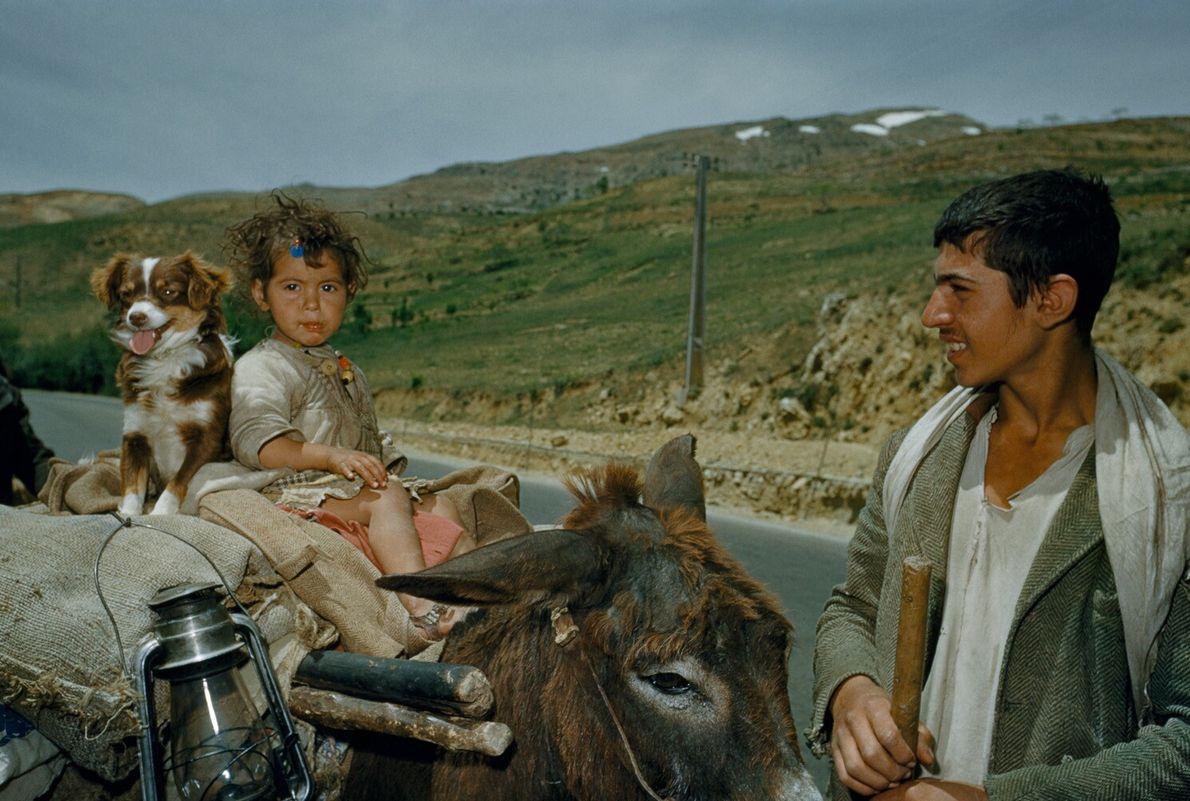 família no Líbano
