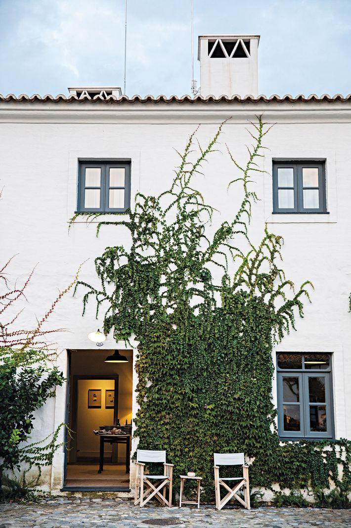 São Lourenço do Barrocal, no Alentejo, é uma quinta transformada em hotel.