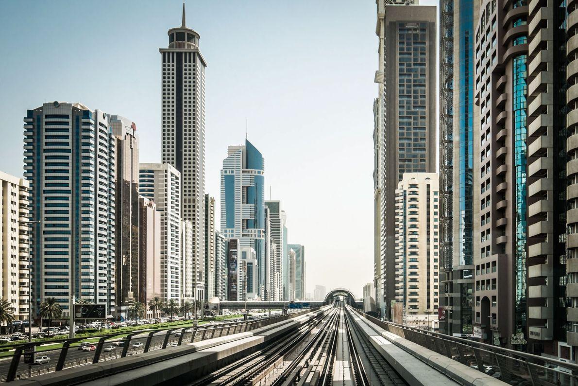Comboio por Dubai