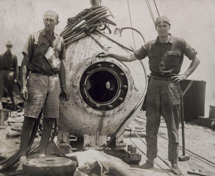 """""""Depois de um mergulho de 400 metros de profundidade no oceano, observámos um mundo completamente novo ..."""