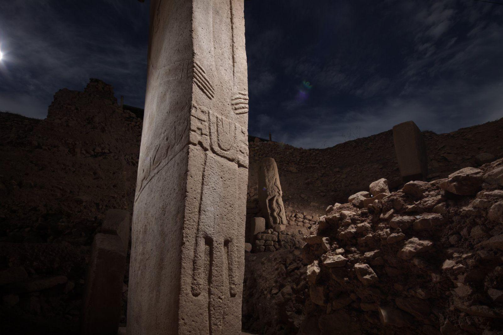 Grande parte do vasto sítio arqueológico de Göbekli Tepe, na Turquia, permanece um mistério. Estes pilares, ...