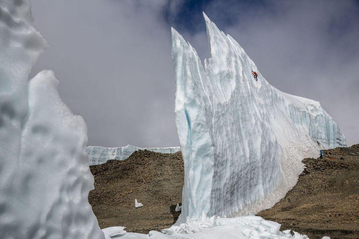 Monte de Gelo no Kilimanjaro