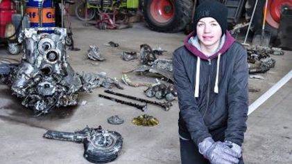 Como um Rapaz na Dinamarca Descobriu um Avião da Segunda Guerra Mundial no Seu Quintal
