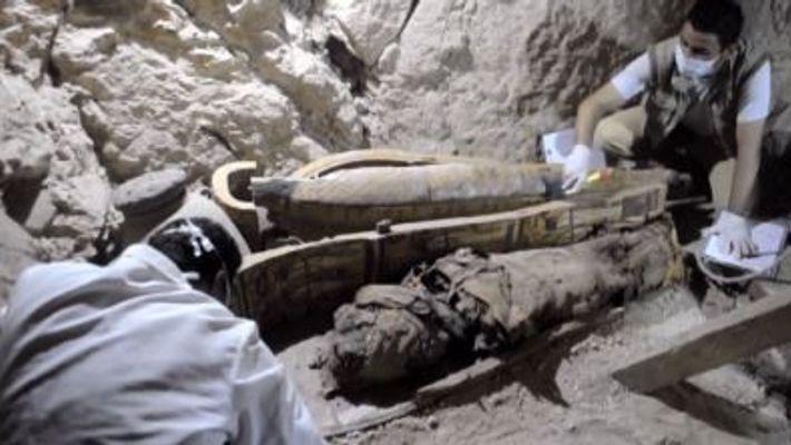 Descoberto túmulo egípcio com 3500 anos