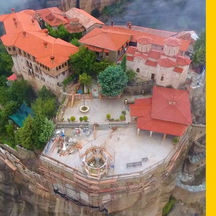 Os Mosteiros de Metéora, na Grécia